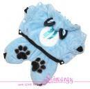 "!!!РАСПРОДАЖА!!! Lim010532-2 Комбинезон ""Mouse-plush"" голубой"