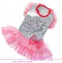 """Нарядное платье """"Cascade"""" розовое"""